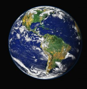 earth from space north america south america go vegan