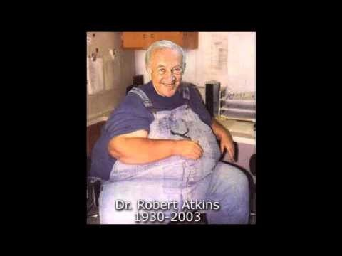 Dr. Robert Atkins fat huge large heart disease scam diets
