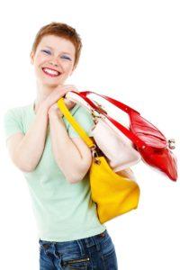 woman shopping meal plan information
