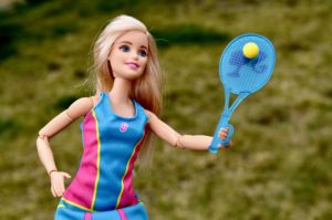 barbie doll playing tennis exercise meal plan information