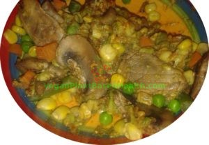 avocado with mixed vegetables corn carrots green peas green beans mushrooms what i eat in a day