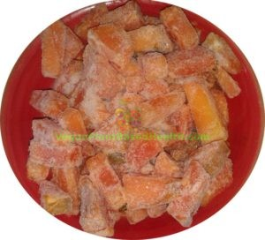 maradol papaya with peel skin diced sliced frozen what i eat in a day