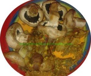 avocado potato mushroom mix what i eat in a day