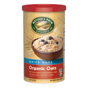 nature's path quick oats organic oats transition to a vegan diet