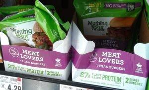 vegan products MorningStar Farms Vegan Burger