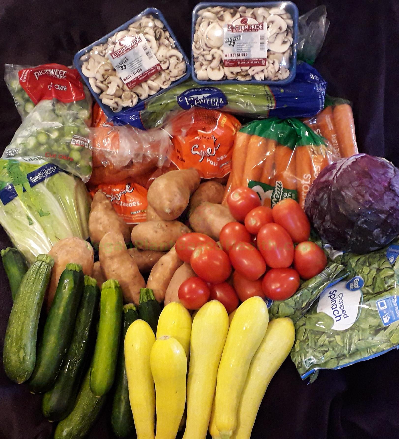 Vegan Grocery Hauls - VeganPlantBasedHealth com